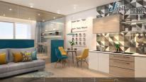"""""""Hot"""" cho thuê căn hộ Officetel thô tại River Gate Quận 4, giá hấp dẫn chỉ với 370 $ /tháng"""